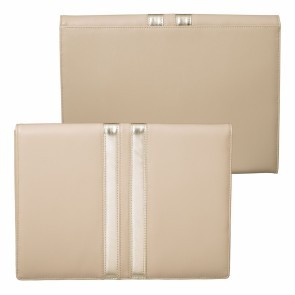 iPad pouch Sienna Nude & Gold