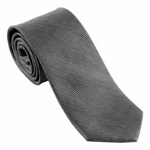Silk Tie Leone Black