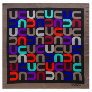Silk scarf Monogramma