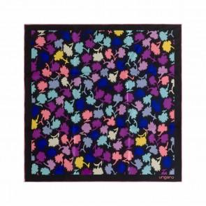 Silk scarf Neon