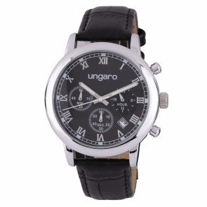 Chronograph Primo Leather Black