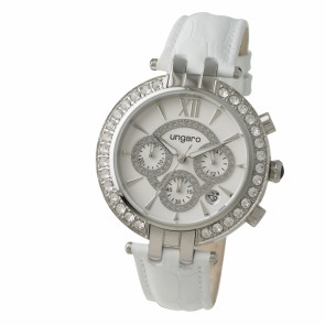 Chronograph Alba White
