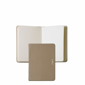 Note pad A6 Sienna Nude & Gold