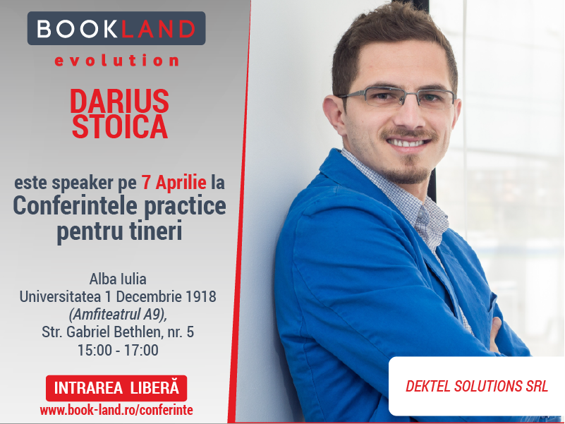 BookLand Evolution-speaker-Darius Stoica